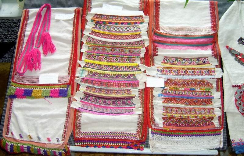 Марийские платья вышивки