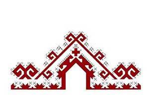 Марийский орнаменты в вышивке