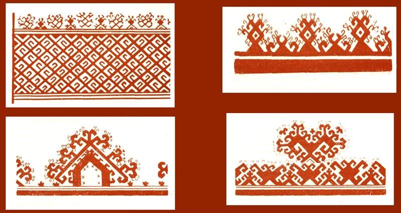 вышивки марийцы в прошлом